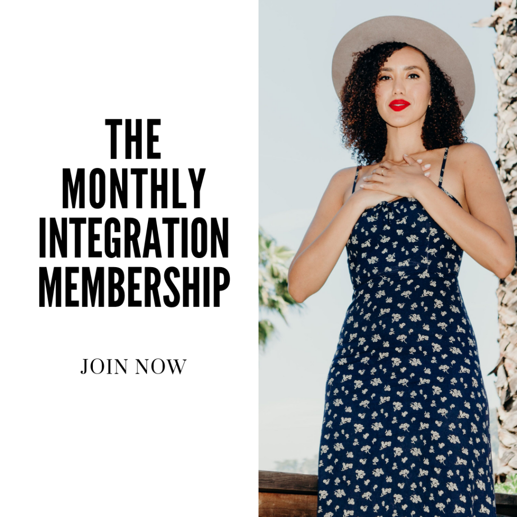 monthly integration membership graphic